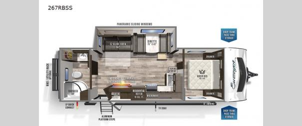 Grand Surveyor 267RBSS Floorplan