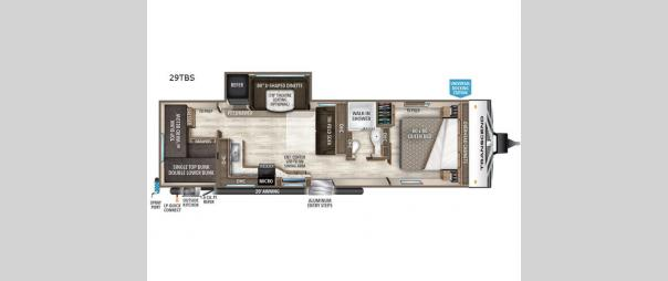 Transcend 29TBS Floorplan