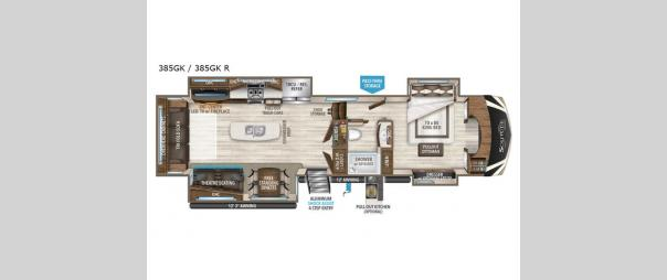 Solitude 385GK Floorplan