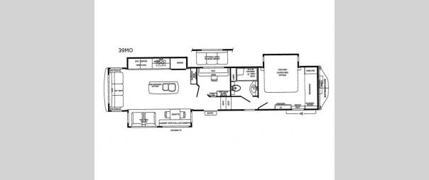 RiverStone 39MO Floorplan