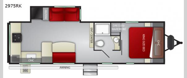 MPG 2975RK Floorplan