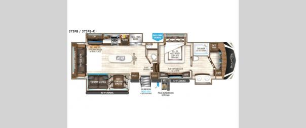 Solitude 373FB Floorplan