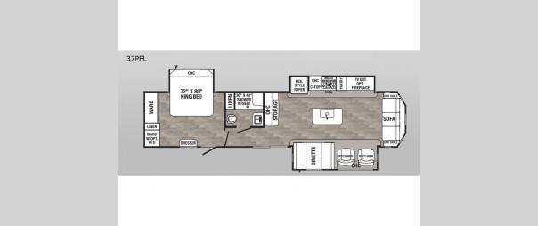 Puma Destination 37PFL Floorplan