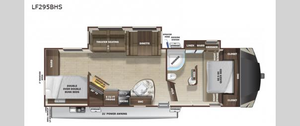 Open Range Light LF295BHS Floorplan