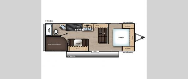 Catalina SBX 261BH Floorplan