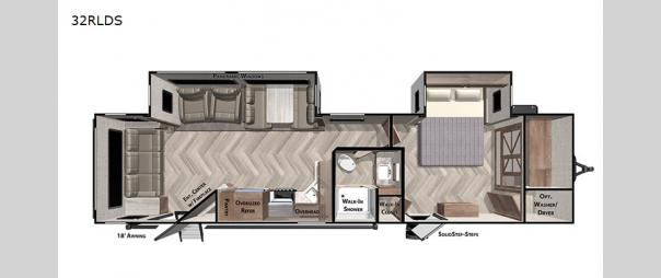 Salem 32RLDS Floorplan