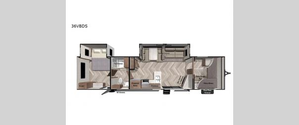 Salem 36VBDS Floorplan