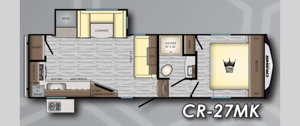 Cruiser Aire CR27MK Floorplan