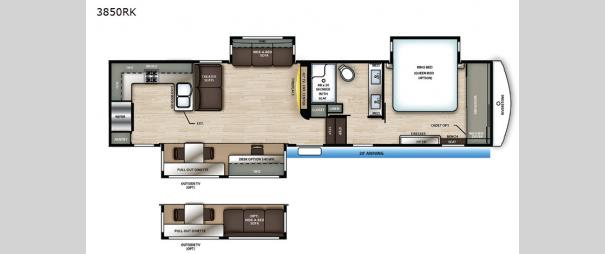 RiverStone Reserve Series 3850RK Floorplan