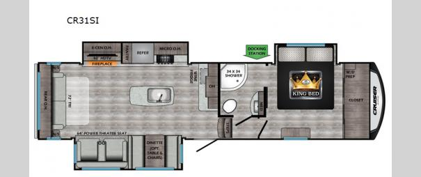 Cruiser Aire CR31SI Floorplan