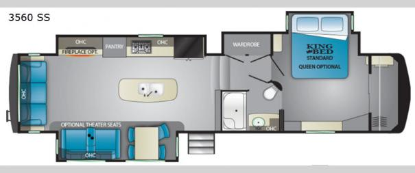 Big Country 3560 SS Floorplan