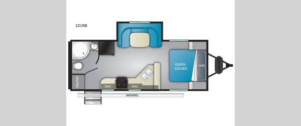 Sundance Ultra Lite 221RB Floorplan