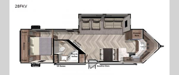 Salem 28FKV Floorplan