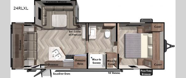 Salem Cruise Lite 24RLXL Floorplan