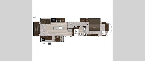 Sanibel 3851 Floorplan