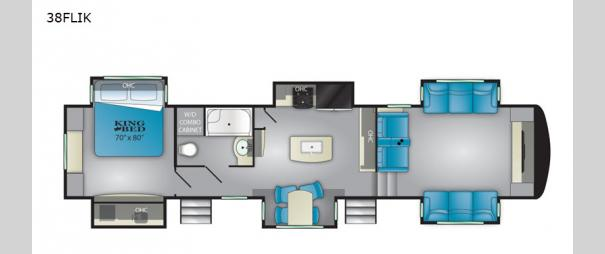 ElkRidge 38FLIK Floorplan