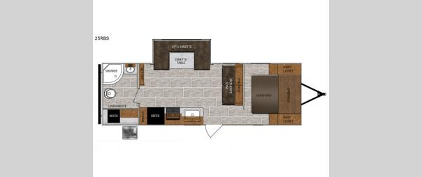 Tracer Breeze 25RBS Floorplan