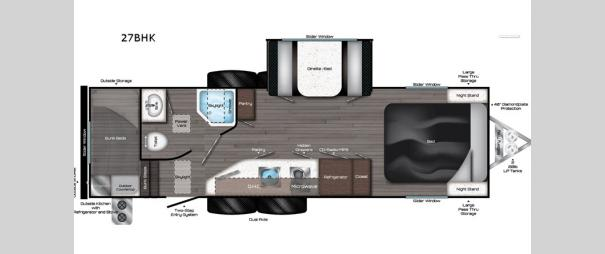 Falcon 27BHK Floorplan
