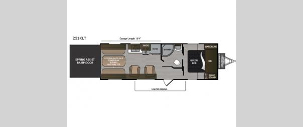 Rubicon 251XLT Floorplan