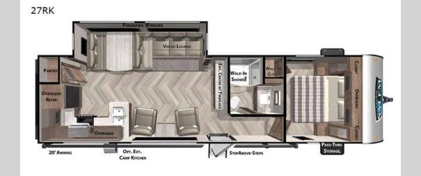 Salem 27RK Floorplan