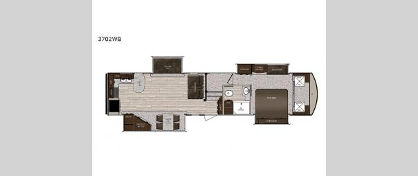 Sanibel 3702WB Floorplan