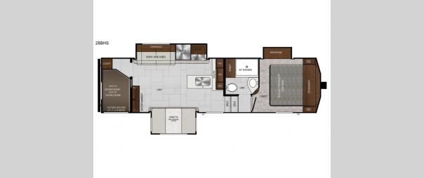 Impression 28BHS Floorplan