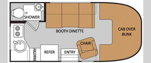Majestic 19G Floorplan