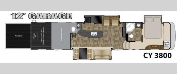 Cyclone 3800 Floorplan