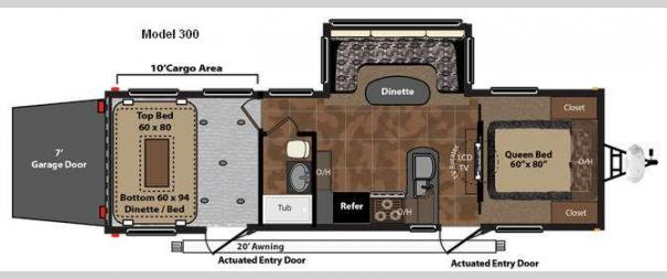 Fuzion 300 Floorplan