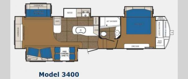 Sanibel 3400 Floorplan