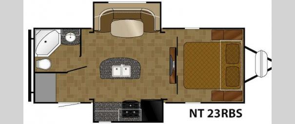 North Trail 23RBS Floorplan