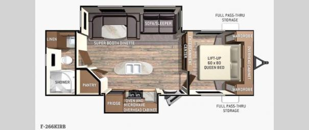 Fun Finder F-266KIRB Floorplan