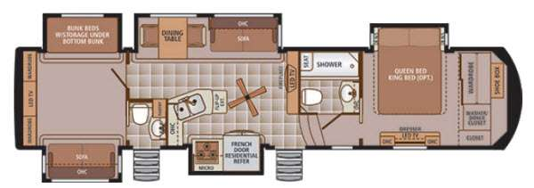 Trilogy 37BH Floorplan