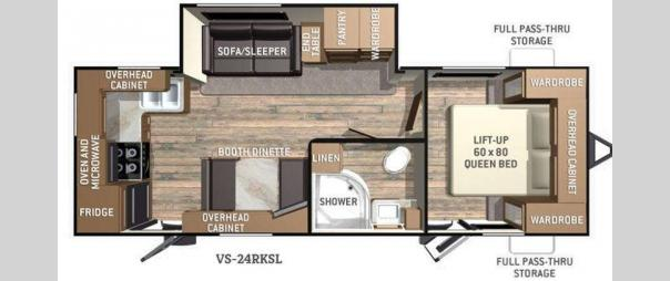 ViewFinder 22RBDS Floorplan