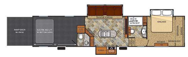 Vengeance Touring Edition 39B12 Floorplan