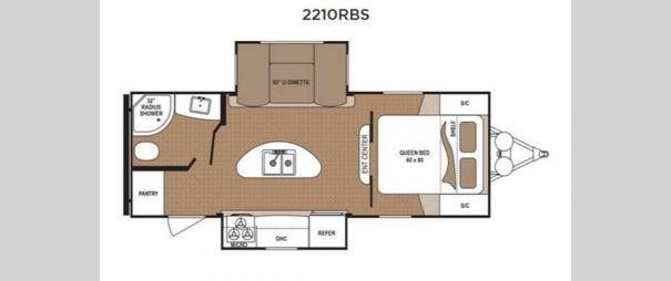 Aspen Trail 2210RBS Floorplan