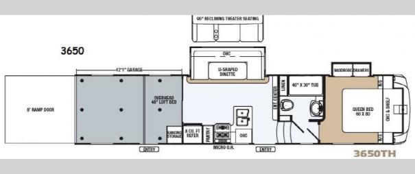 Revelation 3650 Floorplan