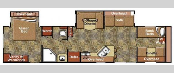 Kingsport 380 FRS SE Series Floorplan