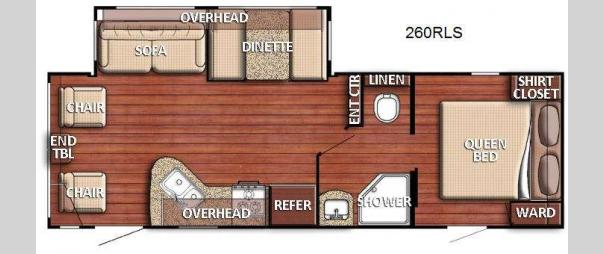 Kingsport 260 RLS Floorplan