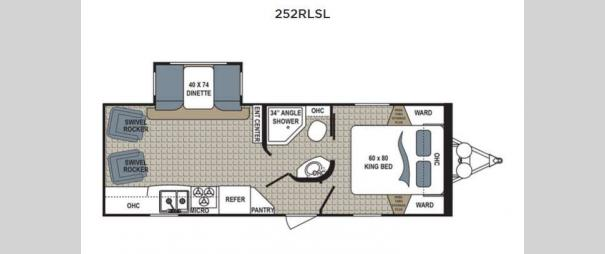 Kodiak 252RLSL Floorplan