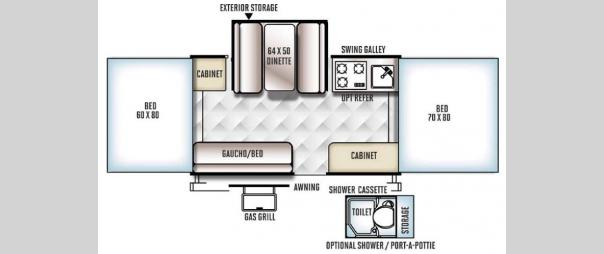 Flagstaff MACLTD Series 228D Floorplan
