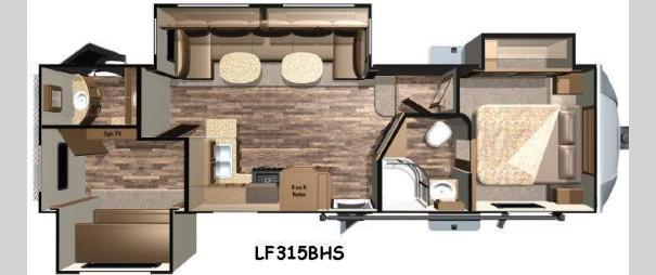 Open Range Light LF315BHS Floorplan