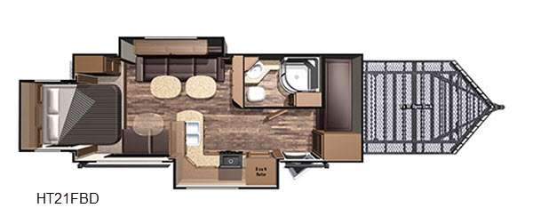 Highlander HT21FBD Floorplan
