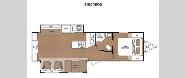 Aspen Trail 3150REDS Floorplan