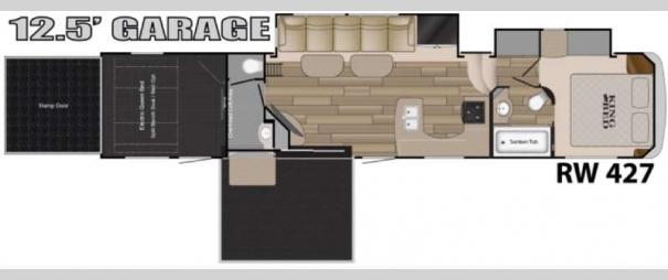 Road Warrior 427 Floorplan