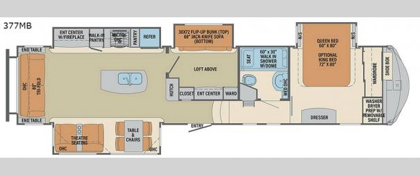 Columbus 377MB Floorplan