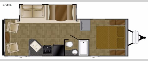 Wilderness 2750RL Floorplan