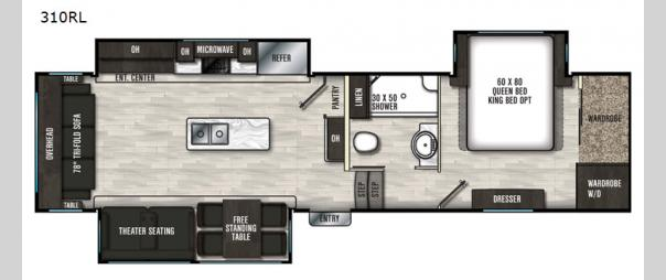 Brookstone 310RL Floorplan