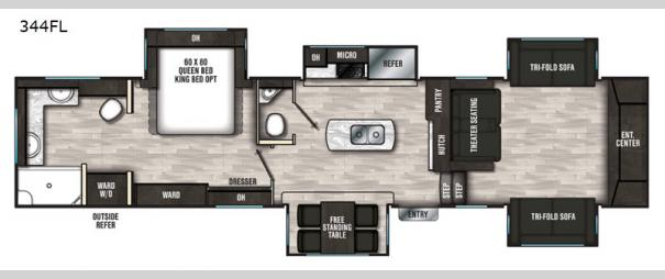 Brookstone 344FL Floorplan