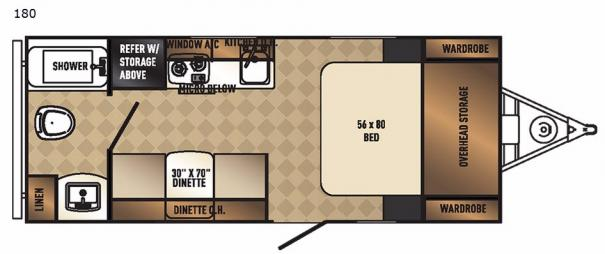 Real-Lite Mini 180 Floorplan